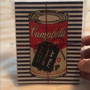 Set of 3 Andy Warhol journals